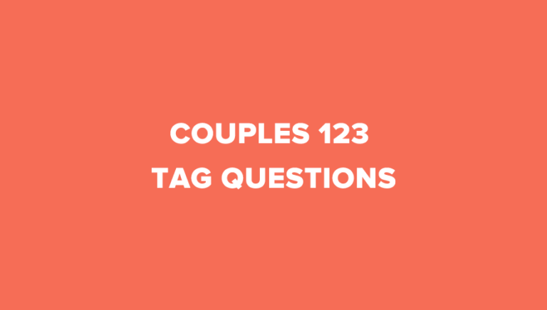 10 Interesting Couples 123 Tag Questions